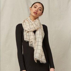 Rachel Pally grid scarf
